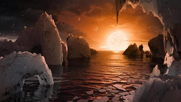 39光年先の恒星で地球に似た惑星7個発見