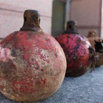 日本で見つかった正体不明の金属球体「X」