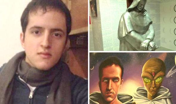 【宇宙人に誘拐された?!】ブラジルの学生、自室の壁を謎の記号で埋め尽くし失踪!