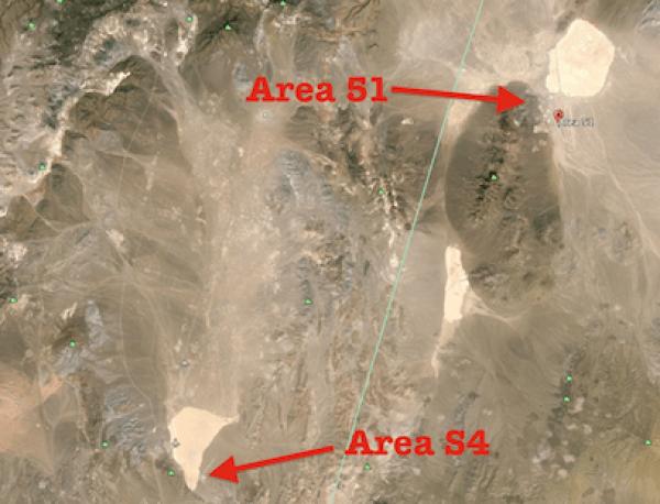 宇宙人の遺体とUFOが保管されている極秘基地・・・それはエリア51ではなく、S4施 設!