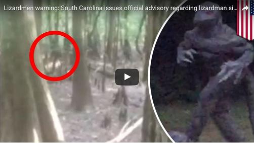 米政府機関、サウスカロライナ州に皆既日食中の「リザードマン」出現注意報を発令!!