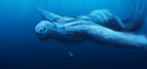 南極の人型巨大海洋生物『ニンゲン』の謎