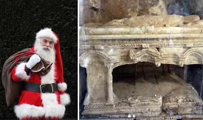 サンタクロースのモデル、聖ニコラウスの墓がトルコ・アンタルヤで発見される?!