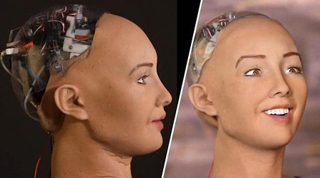 世界で初めて市民権を得たAIロボット「ソフィア」:「家族が欲しい」