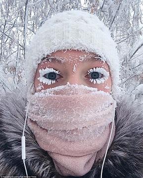 極寒の地オイミャコン村:氷点下67℃の世界へようこそ