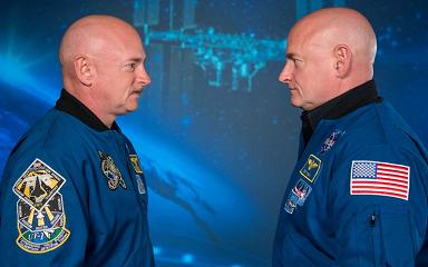 宇宙滞在により遺伝子が変化!双子の宇宙飛行士の遺伝子が別物に!