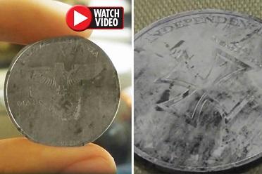 やはりパラレルワールドは存在するのか?!未来の「ナチス硬貨」が発見される!