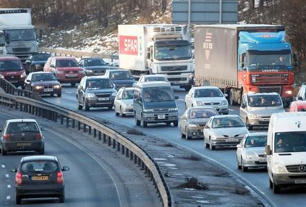 イギリスの高速道路