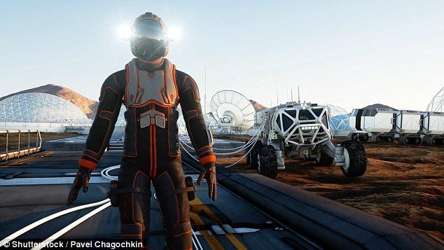 火星の入植者は急速に別種へと進化する!