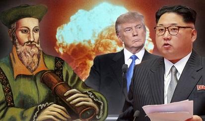 第三次世界大戦にまつわるノストラダムスの予言:2017年に戦争が始まる?!