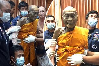 仏教僧の奇跡:死後2ヶ月経っても腐敗せず顔に笑みを浮かべたタイの大師