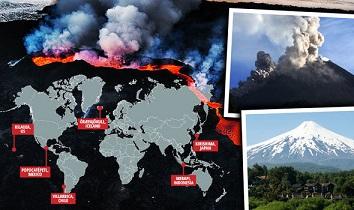 2018年に噴火の可能性がある世界6つの火山!霧島山も噴火か?!
