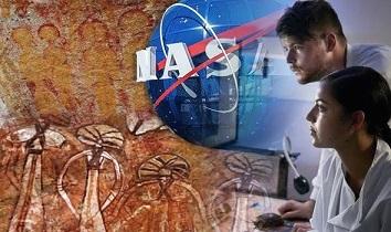 インドで発見された1万年前の壁画に描かれたUFOと宇宙人をNASAが調査!