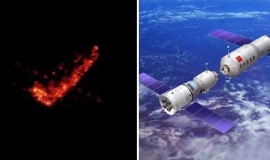 中国の宇宙ステーション「天宮1号」、今週末に火球となって地球落下か!