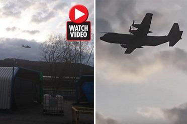 【恐怖!】イギリス上空を静かに飛ぶ第二次世界大戦の幽霊爆撃機が目撃される!