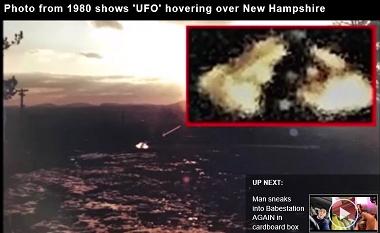 宇宙人の証拠?1980年に撮られたUFOの内部に乗員の姿が!!