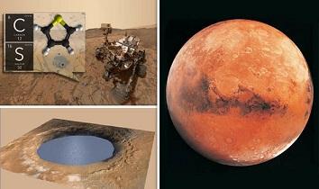 火星で有機化合物が発見される!やはり火星には生命体が存在したのか?!