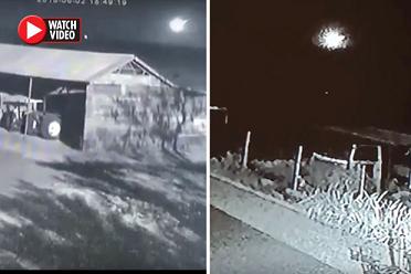 【衝撃】UFOだったのか?! 南アフリカで観測された隕石落下